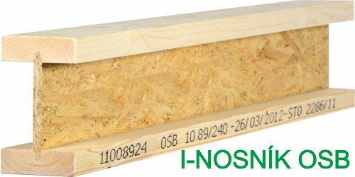 I-nosník OSB, dřevěný nosník, osb nosník, Palco