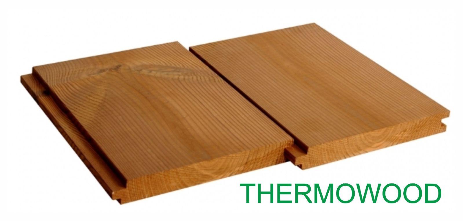 Thermowood, finská borovice, obklady, fasády, terasy